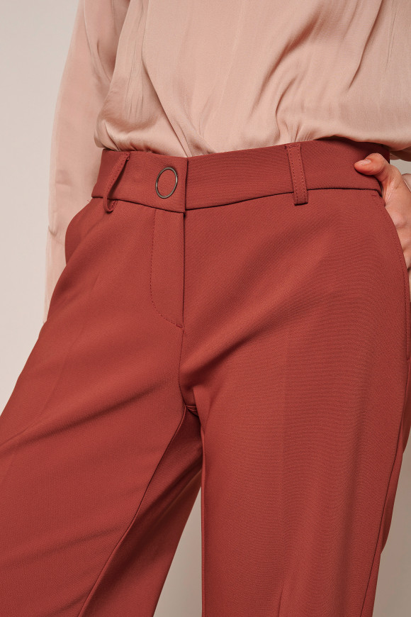 Trousers »May_305« henna red